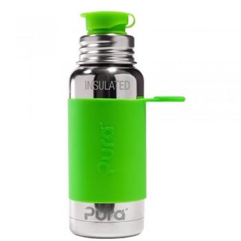 Botella-TERMO  PURA SPORT 475 ml  VERDE